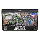 Set figura y vehiculo Capitan America Marvel Legends