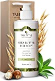 Tree To Tub Lotion for Sensitive Skin - pH 5.5 Balanced, Fragrance Free Lotion with Organic Shea Butter, Cocoa Butter, Aloe Vera 8.5 oz