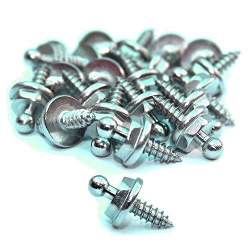 5 Stück Druckknopf Unterteil Blechschraube passend für LOXX Druckknopf Abdeckplanne Persenning