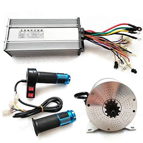 60V 2000W 4300 RPM Kit Motore Elettrico Senza Spazzole ad Alta velocità CC, DIY Parti di e-Bike, Kit di Conversione Motore Bici Elettrica