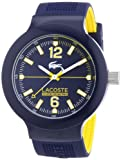 Lacoste 2010704 - Reloj analógico de Cuarzo para Hombre, Correa de Silicona Color Azul