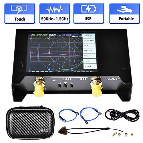 WXGY Antennenanalysator mit 2,8-Zoll-Display-Vektoranalysator Robuster metallgenauer Netzwerkanalysator