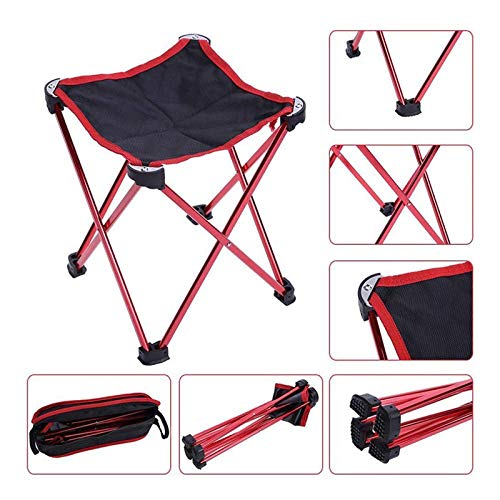 Outdoor Mini Portable Klapstoel for Kamperen Wandelen Hengelen Picnic BBQ Kruk Klapstoelen Camping Outdoor Kruk