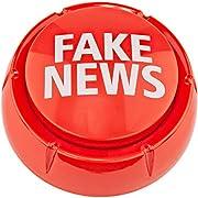 Fairly Odd Novelties Fon-10261 Donald Trump Sound Button Gag Gift Novelty-7 Fake News Sayings, Red