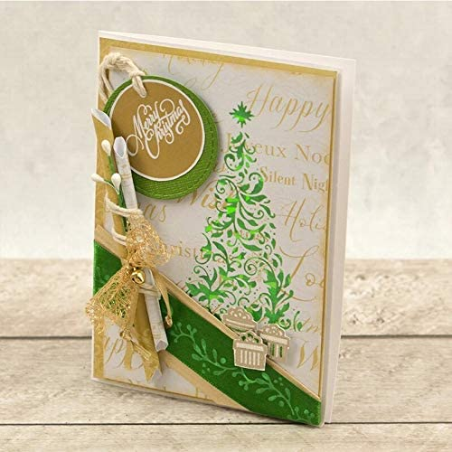 WeihuaL Border Direct stock discount Metal Hot Foil Plate for Cards Classic and Scrapbooking M