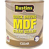 RUSTINS MDFS500-500ml rápida mdf seca sellador - clara