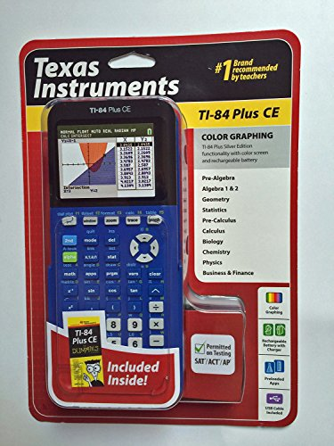 Texas Instruments Grafikrechner TI-84 Plus CE-T schwarz/silber