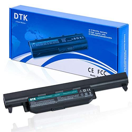 DTK A32-K55 Bateria para ASUS X75 X75A X75V K55 K55A R500V A45 A55 A75 K45 K75 R400 R500 R700 X45 X55 U57 A33-K55 A41-K55 Baterías portátiles y netbooks 10.8V 5200mAh