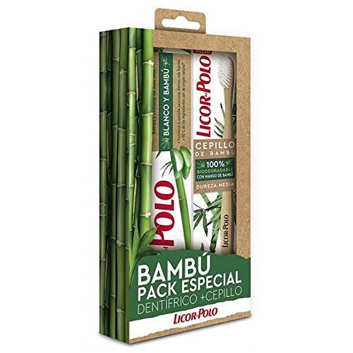 Licor del Polo - Pack Dentífrico y Cepillo Dental Bambú