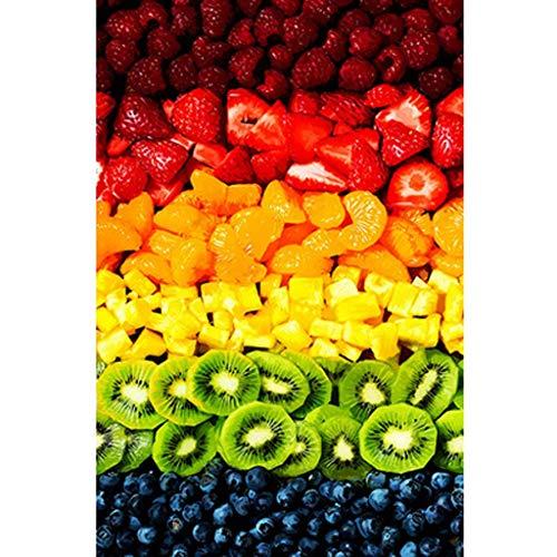OUCUCK Puzzle per Adulti, Pittura ad Olio su Arte Set di Puzzle con Disegni di Frutti Colorati, Dimensioni: 29,5 x 19,7 Pollici, Gioco di Puzzle di Lavoro Manuale Fai-da-Te, Decorazioni per la casa
