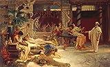 Kunst für Alle Impresión artística/Póster: Hendrik Siemiradzki Socrates Finds Alkibiades with The hetaerae - Impresión, Foto, póster artístico, 90x55 cm