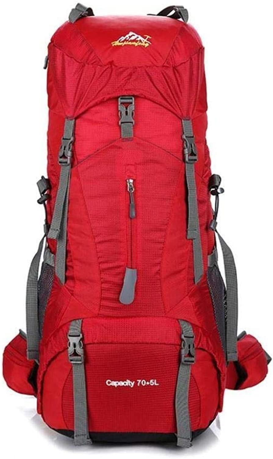 Mountaineering Backpack Travel Bag wuJIAN (color   E)