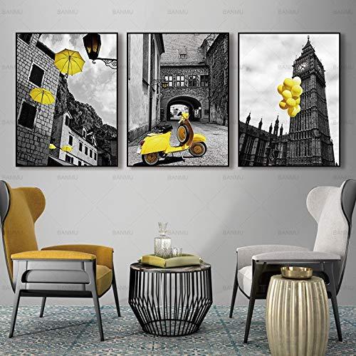 Wall art decoration art mural canvas landscape modern canvas painting home decoration,Frameless painting-60x80cmx3