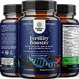 Prenatal Multivitamin Male Fertility Supplement - Mens Fertility Supplement with L-Arginine D-Aspartic Acid and Maca Root Prenatal Vitamins for Enhanced Motility Volume Potency and Fertility Support