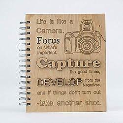 handmade journal for photographers