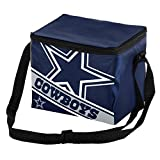 Dallas Cowboys Big Logo Stripe 6 Pack Cooler