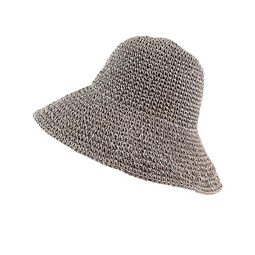 Sun hat Ranking TOP9 Summer Autumn Hats for Retro Flat Women Hat 67% OFF of fixed price Bri Drooping
