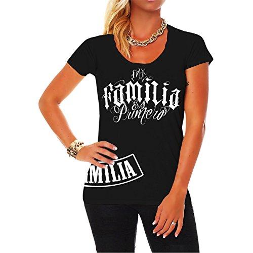 Spaß kostet Frauen Girls Tshirt Espanol Mi Familia es Primero