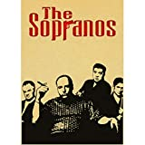 TV Series Poster Sopranos Posters and Prints Art Canvas Painting Wall Pictures For Living Room Decoracin del Hogar 50X70Cm Sin Marco