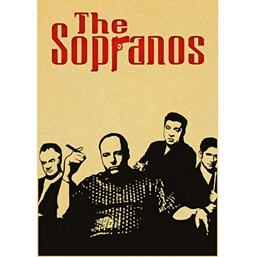 TV Series Poster Sopranos Posters and Prints Art Canvas Painting...
