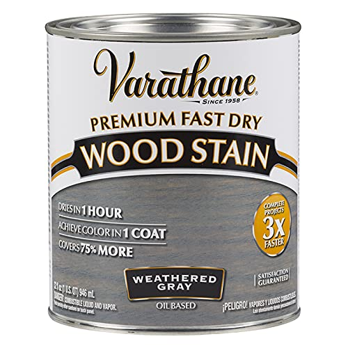 how long does wood stain take to dry