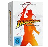 Indiana Jones – 4-Movie Collection - limited Steelbook (4K UHD) [Blu-ray]