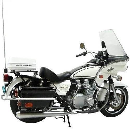 Aoshima Models aos-003305 wasaki Polizei 1000 wling Typ MS055 del Building Kit, 1 12 ale by Aoshima Models