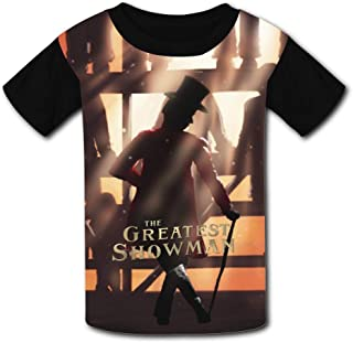 29ac3e86a Fenghual The-Greatest-Showman Black Raglan T-Shirts Short Sleeve Sports  Sweat Tee