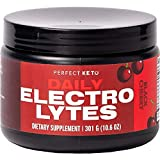 Perfect Keto Electrolytes Hydration Powder | Supports Hydration, Recovery & Healthy Immune System | Sugar Free, No Carbs, Calories or Fillers | Keto-Friendly & Non-GMO (Black Cherry)