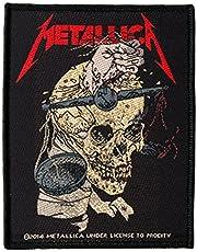 Metallica parche–hormigas of Sorrow–Metallica Patch–tejida & licencia oficial..