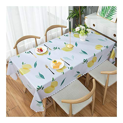 Qiao jin rechthoekig tafelkleed gemakkelijk schoon te maken vlekbestendige keuken thuis gebruik voor binnen of buiten partijen