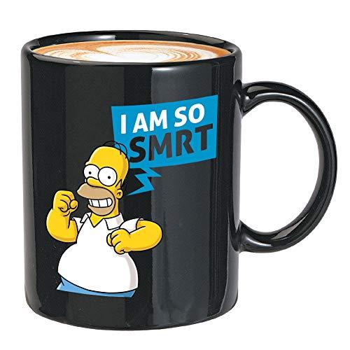 Kaffeetasse aus der TV-Serie – I Am So Smrt – Saison animierte Comedy Cartoon lustige amerikanische Fernsehserie Bart Springfield einzigartige Zitate
