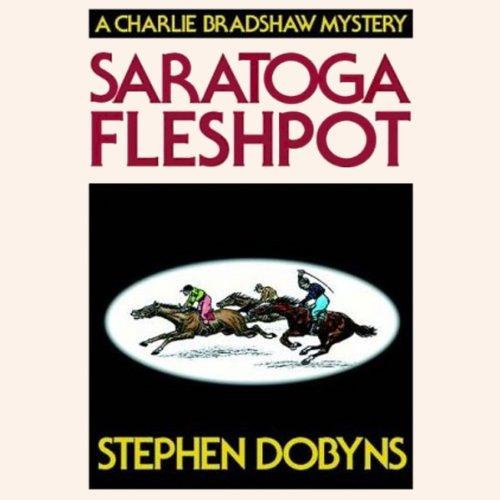 Saratoga Fleshpot audiobook cover art
