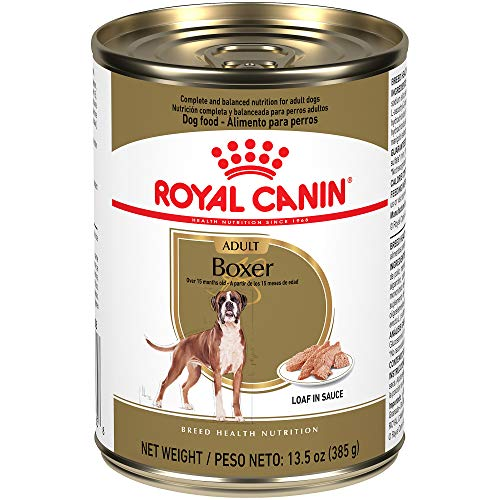 Royal Canin Breed Health Nutrition Boxer Adult Canned Dog Food, 13.5 oz (Pack of 12)