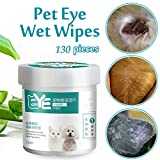Toallitas para toallitas para gatos, toallitas para mascotas, toallitas higiénicas desodorizantes de limpieza de glándulas anales para perros Gatos con vitamina acondicionadores de la piel para todos
