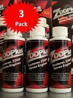 ZDDPPlus ZDDP Engine Oil Additive Zinc & Phosphorus 3 Bottle Pkg