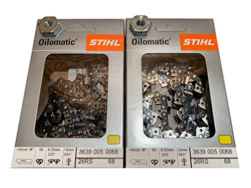 Stihl 3639 005 0068 Rapid Super Chainsaw Chain Pack of 2