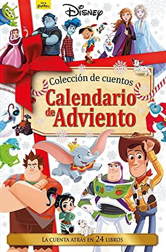 Disney. Calendario de Adviento. La cuenta atrás en 24 libros: Colección de cuentos (Disney. Otras propiedades)