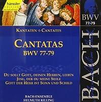 Sacred Cantatas Bwv 77-79 by JOHANN SEBASTIAN BACH (1999-10-19)