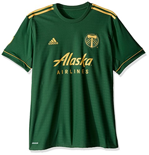 MLS Portland Timbers Adult Men Replica Wordmark s/jersey,2X-Large,Dark Green