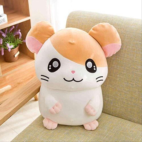 n\a Hamtaro Plüschtier Super Soft Japan Anime Hamster Gefüllte Puppenspielzeug Für Kinder Cartoon Figur Spielzeug Für Kinder Geburtstagsgeschenk 40cm hellgelb
