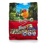 Kaytee Fiesta Gourmet Variety Bird Food For Conures, 4-1/2-Pound Bag