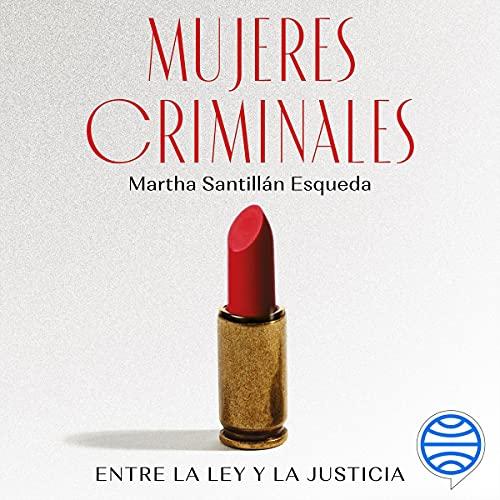 Diseño de la portada del título Mujeres criminales