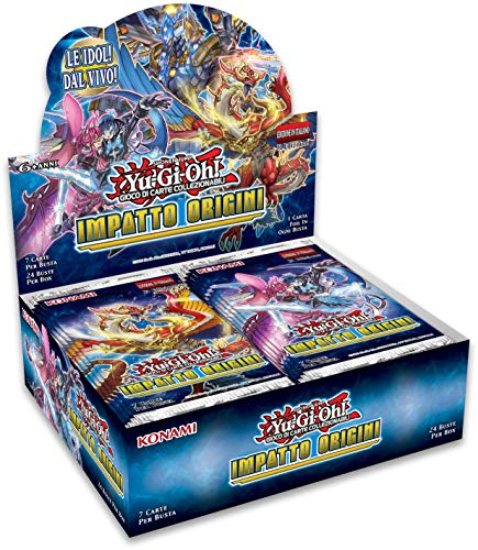 YU-GI-OH!- Trading Card Game Impatto Origini-Box (24 Buste), 164874