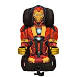 KidsEmbrace 2-in-1 Harness Booster Car Seat, Marvel Avengers Iron...