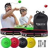 TEKXYZ Pelota De Reflejos De Boxeo Paquete Familiar BYRG | TEKXYZ Boxing Reflex Ball Family Pack BYRG