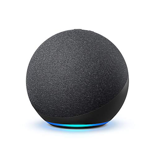All-new Echo (4th Gen) | Charcoal - cool grad gift idea for son