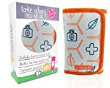 Small Compact First Aid Kit for Baby Diaper Bag,...