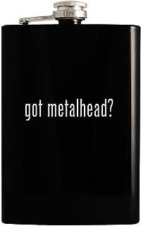 got metalhead? - Black 8oz Hip Drinking Alcohol Flask