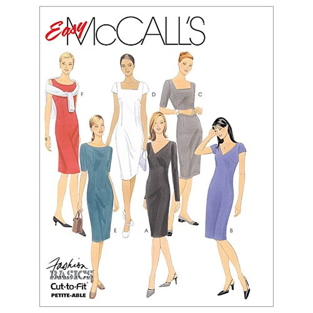 McCall's Patterns M2401 Misses' Dresses, Size C (10-12-14)